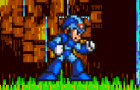 Megaman X vs. Sonic by Cactaur-Jack