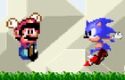 NSC's Mario VS Sonic by DoctorWombat