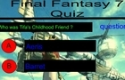 FF7 Quiz Multiple Choice