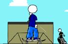 Skateboarding Clip 2 TEST