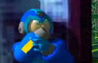 a 3d animated megaman