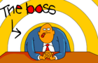 The Boss by JoeCartoon
