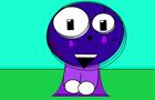 The Happy Purple Clown