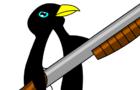 Penguin Gots A Gun