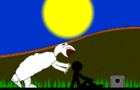 evil sheep on earth