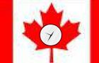 Oh Canada Clock