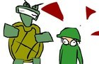 1 Army Guy and the Turtle