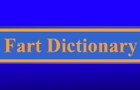 Fart Dictionary V. 1.0