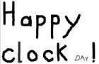 clock day (written)