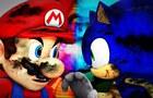 Mario Vs. Sonic - Short