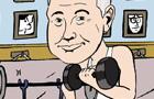 Johnny Carson Home Gym