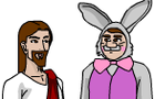 Jesus &amp; The Easter Bunny