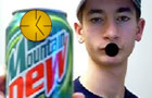 MountainDewClock SMASHED