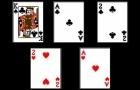 The magic card trick.