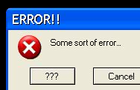 Windows Errors 2007