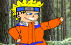 Naruto vs Ninja guy! by nintendudes1