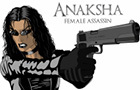 Anaksha: Female Assassin by ArifRocks