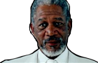 Morgan... Freeman? by theicecubeclock