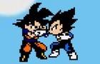 Goku vs Vegeta - Practice