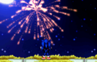 Happy New Year with Sonic