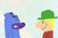 Bear meets boy