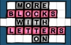 More Blocks w/ Letters On