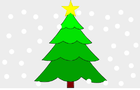 Drawing a Christmas Tree