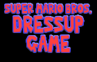 super mario dressup game!