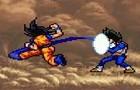 Goku vs. Vegeta ani