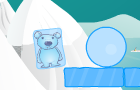 Ice Cube Bear by adiian