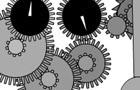 Simple clock simulation