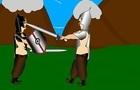 rostam&sohrab fight