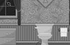 Grayscale Escape-Bathroom