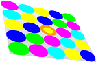 Color mouse avoider game