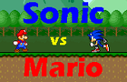 Mario Vs Sonic attempt by theGoronclub