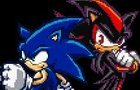 Sonic Vs Shadow Sprite