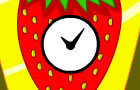 Strawberry Clock is King by Heroofflash