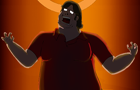 Gabe Newell Eats HL2:E3 by MisterEulan