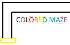 Colored Maze