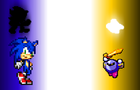 Sonic VS Meta Knight P2 by GuitarKirby