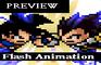 Goku vs Vegeta Beta