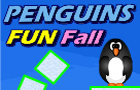Penguins Fun Fall by keybol