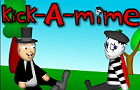 kick-A-mime by blackcrocus