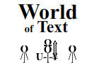 World Of Text by AudioZZ
