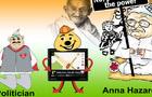 Anna Hazare Buddy Game