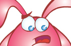 Pink Bunny cartoon