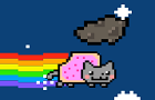 Nyan Cat - Meteor Flight! by ArcadeGrab