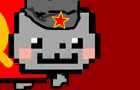Soviet Nyan Cat by TheNAkos