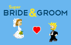 Super Bride and Groom by MeanJellybeanLLC