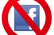Say NO to Facebook Button